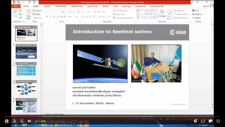 معرفی ماهواره سنتینل (سری1تا 6)- قسمت1 - معرفی ماهواره سنتینل (سری1تا 6)- قسمت1