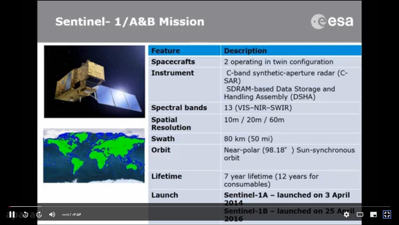 معرفی ماهواره سنتینل (سری 1تا 6)- قسمت سوم - معرفی ماهواره سنتینل (سری 1تا 6)- قسمت سوم