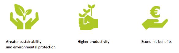 مزایای استفاده از کشاورزی دقیق