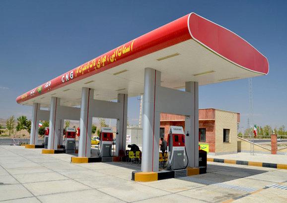 مکان یابی و تحلیل فضایی جایگاه های پمپ بنزین و ایستگاه های CNG در شهر قزوین