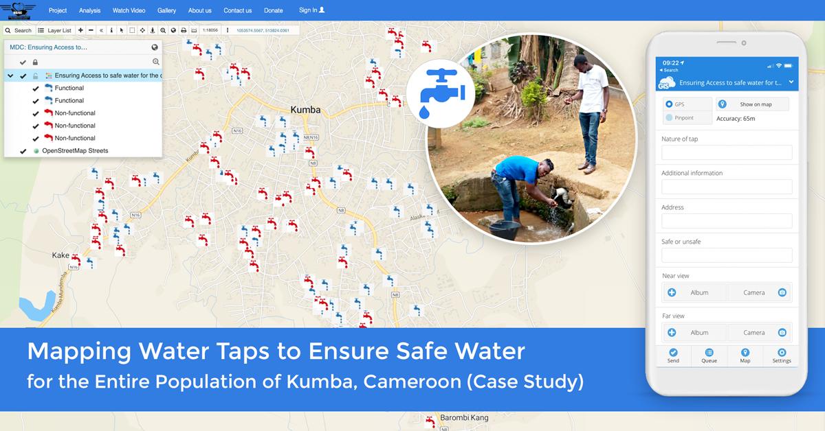کاربرد GIS در مدیریت منابع آب
