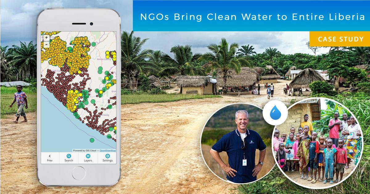 GIS برای NGO